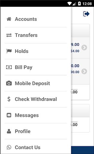 DCFCU Mobile Screenshot