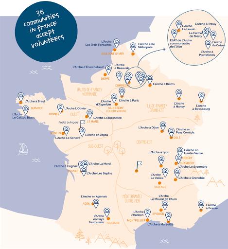 L'Arche France communities