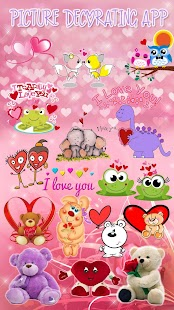 Photo Editor with Love Stickers ? Pics Decoration - náhled