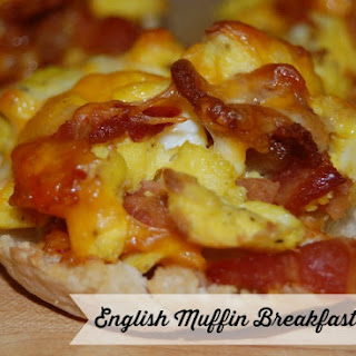 English Muffin Pizza Microwave Recipes