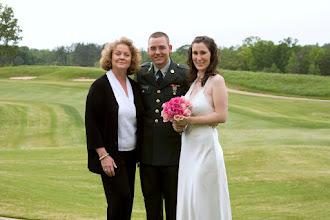 Photo: Cateechee Golf Club Military Wedding - Hartwell, GA - May 2009- ~www.WeddingWoman.net  ~ Photo courtesy Sarah Thompson ~ www.PhotoDayBliss.com ~