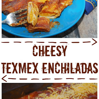 Cheesy TexMex Enchiladas