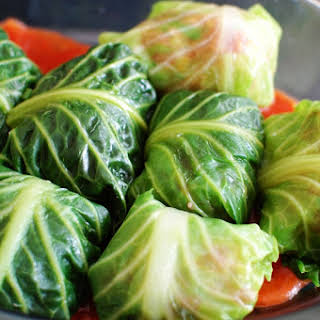 Comforting Stuffed Cabbage.