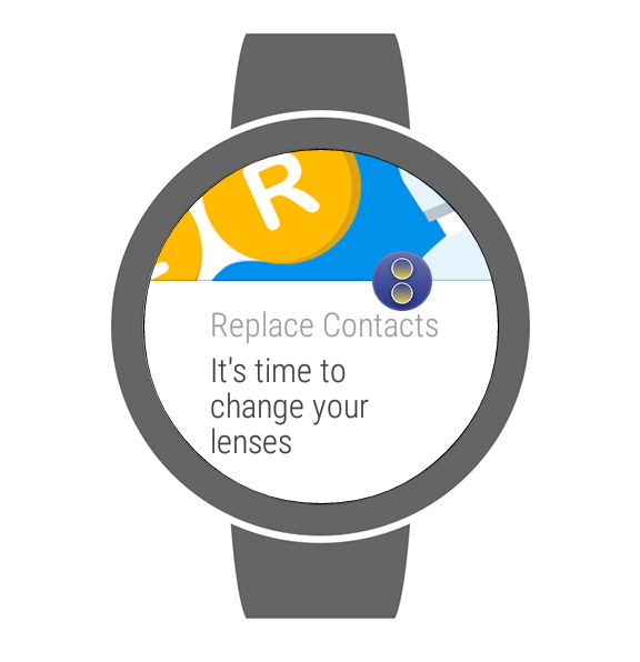 1800CONTACTS App- screenshot