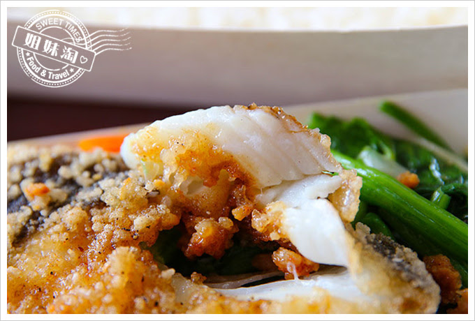 桌上賓中式快餐鱈魚飯2