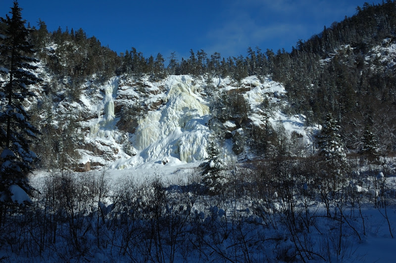 Photo: Bridal Veil Falls winter view @ -30 c