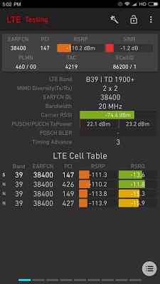 Network Signal Guru - screenshot