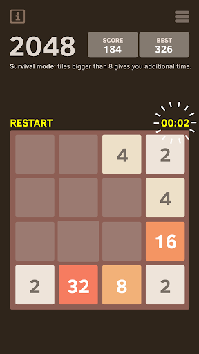2048 Number puzzle game screenshot 7