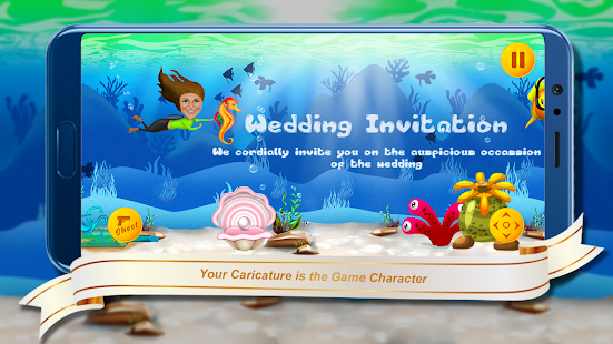 Download Underwater Theme - Wedding Invitation Game For PC Windows and Mac apk screenshot 4
