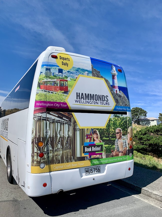 Touring Wellington with Hammonds…