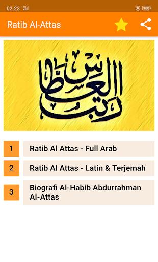 Ratib Al-Attas Lengkap - Terjemah & MP3 screenshot 1