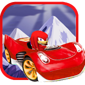 Knuckles red sonic racing game