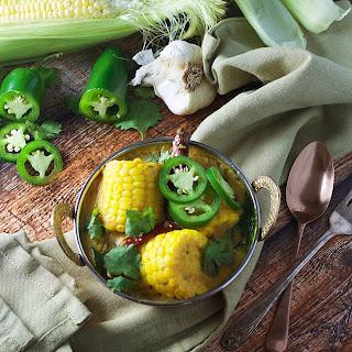 Succulent Corn Curry