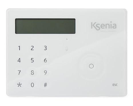 LCD manöverpanel ergo S vit
