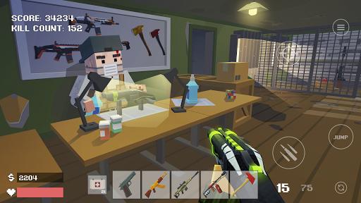 Pixel Combat: Zombies Strike  captures d'écran 1