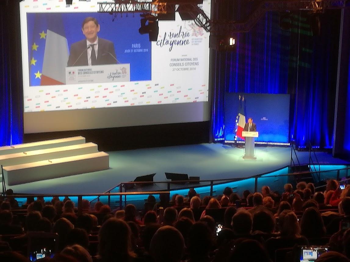 Discours de Mr Patrick KANNER, Ministre de la Ville, de la Jeunesse et des Sports