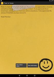 """Thank You"" Quotes screenshot 7"