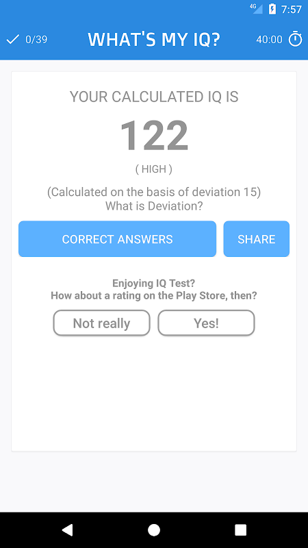 Mensa IQ Test APK 2 0 - Free Puzzle Games for Android