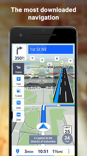 GPS Navigation & Offline Maps Sygic 17 4 18 Full Apk