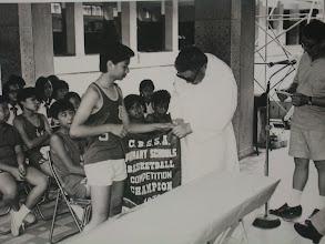 Photo: 喇沙校聯籃球比賽在本校舉行本校得冠軍04