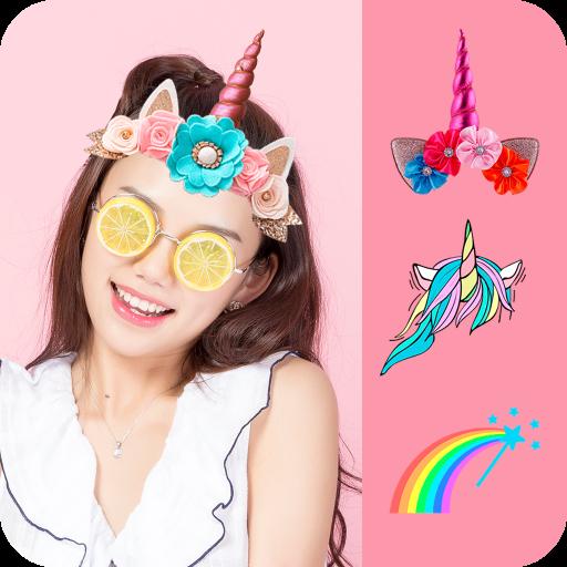 Unicorn Pictures Games Icon