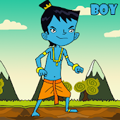 The Funny Blue Kid