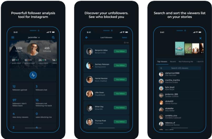 Followers+ - The Followers Analytics for Instagram Mobile App
