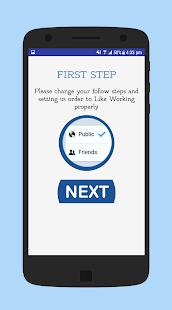 Like app for facebook - náhled