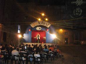 Photo: Allestimento in piazza a Mondovì (CN)