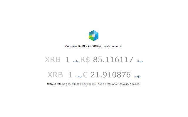 Criptomoedas - Cotação em Tempo Real