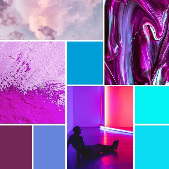 Jewel Tone Collage - Instagram Post Template
