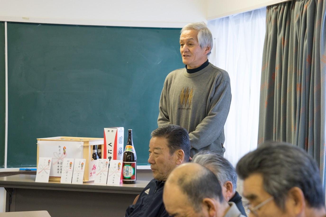司会の藤崎正雄さん