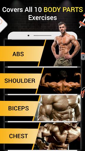Pro Gym Workout (Gym Workouts & Fitness) 5.4 Screenshots 2