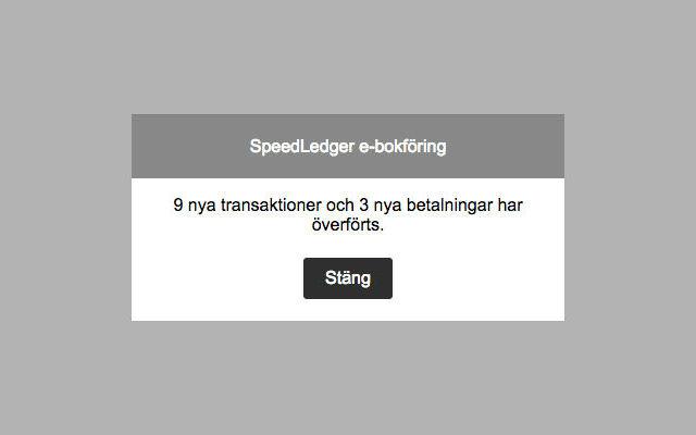 SpeedLedger e-bokföring