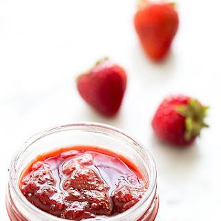 Microwave Strawberry Jam