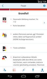 HALLESCHE Notfall-App - náhled