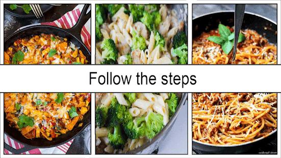Easy One Pot Dinner Ideas - náhled