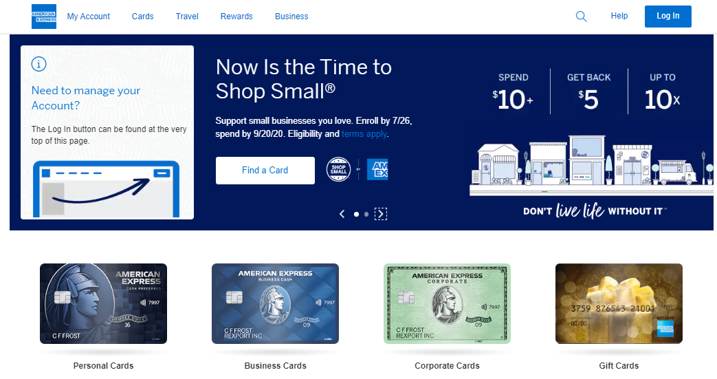 American Express credit card affiliate program