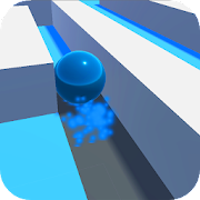 Roller Splash : Splast ball paint and roll the sky