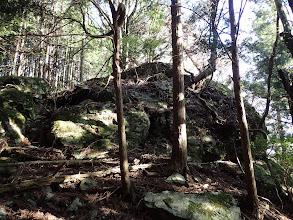 大岩(西から廻り込む)