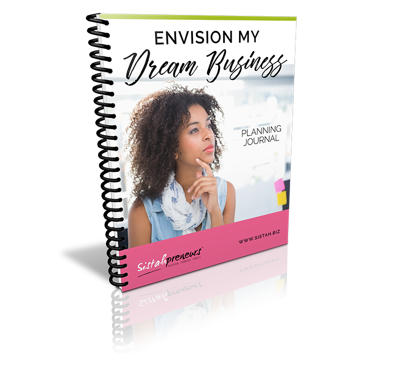 Envision My Dream Business Journal Cover