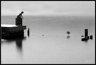 Photo: LE in Lake Banyoles. The sculpture of a boy in a photo with an exposure of 74 seconds taken to the edge of Lake Banyoles in northern Catalonia.we can see a bird in the water near the statue moved very little in all this time My contribution to: #monochromemonday +Monochrome Mondayby +Hans Berendsen+Jerry Johnson+Manuel Votta+Steve Barge #breakfastclub +Breakfast Clubby +Gemma Costa #breakfastartclub +Breakfast Art Clubby +Kate Church #plusphotoextract by +Jarek Klimek
