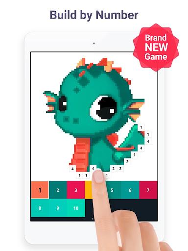 Pixel Art: Build by Number Game screenshot 11