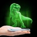 3d dyno hologram simulator icon