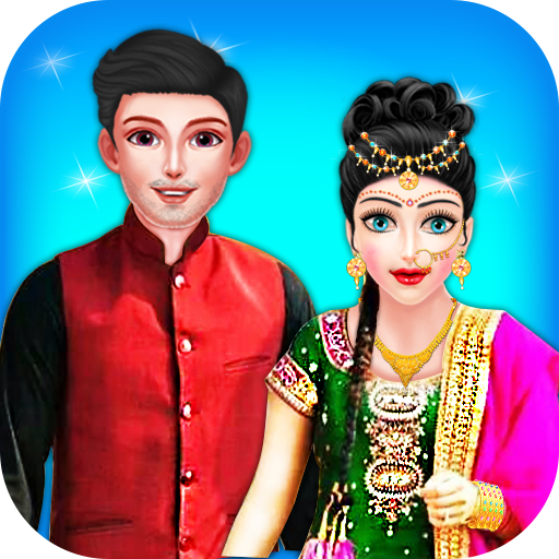 Indian Fashion Stylist: Makeup spa & dress-up 20  file APK for Gaming PC/PS3/PS4 Smart TV