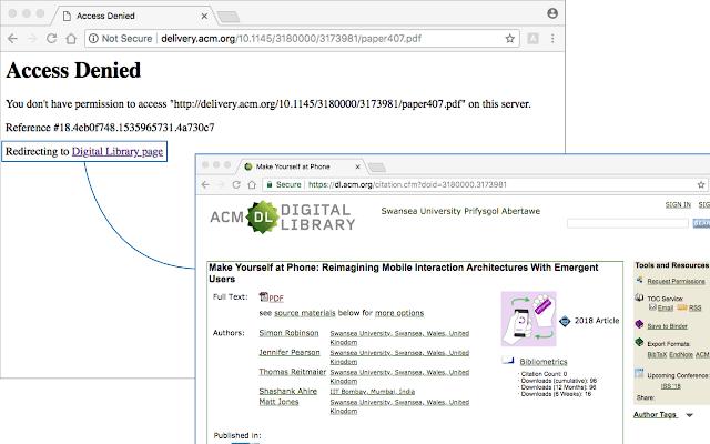 ACM error page fixer