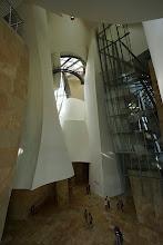 Photo: Guggenheim interior.
