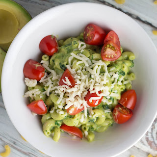 Zucchini and Avocado Mac & Cheese