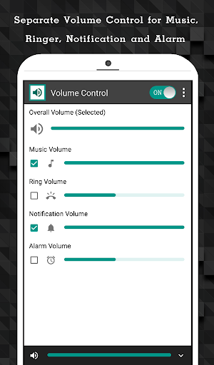 Download Volume Control - Bottom Screen on PC & Mac with