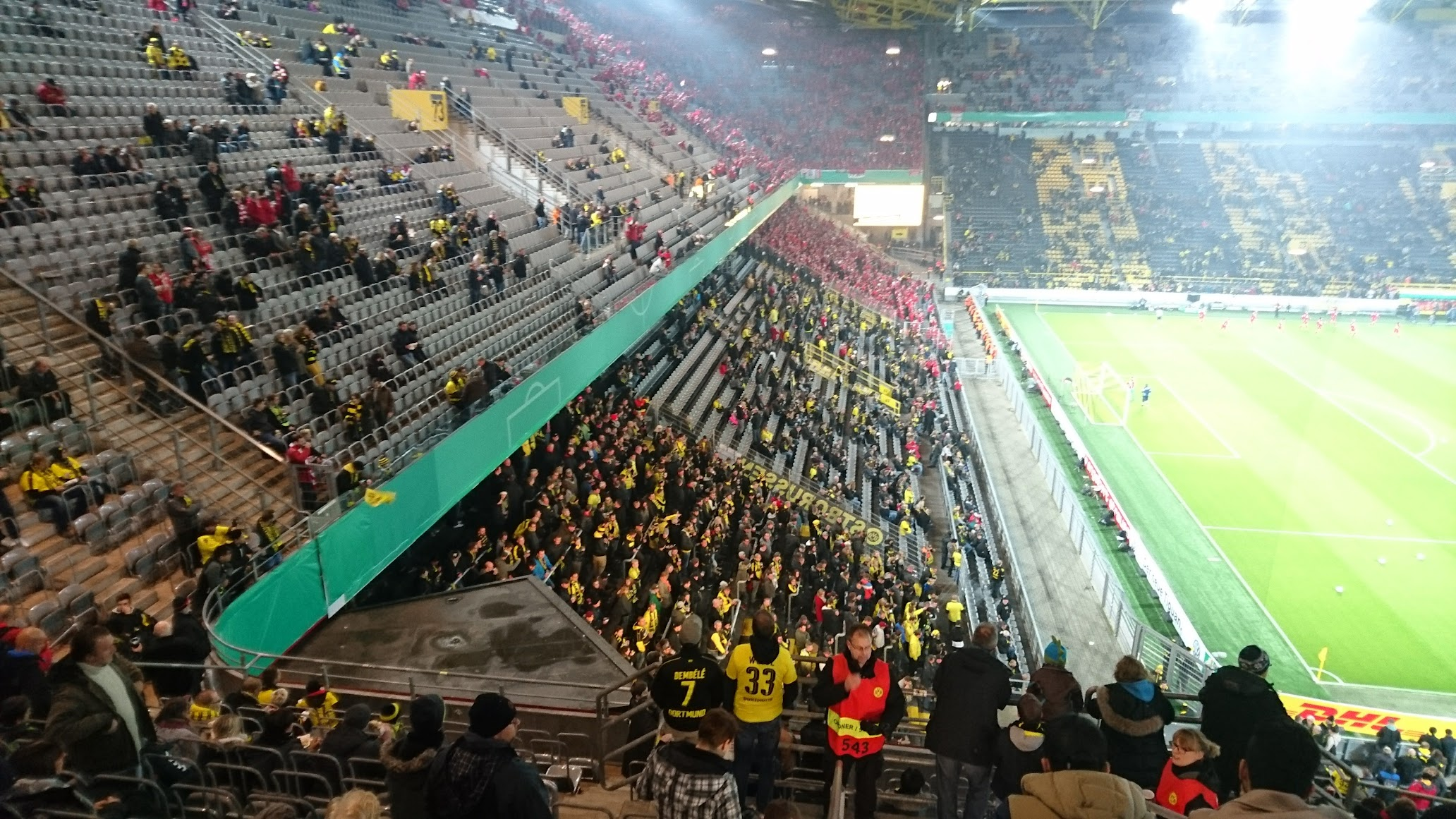 Borussia Dortmund Union Berlin Block 65 Signal Iduna Park